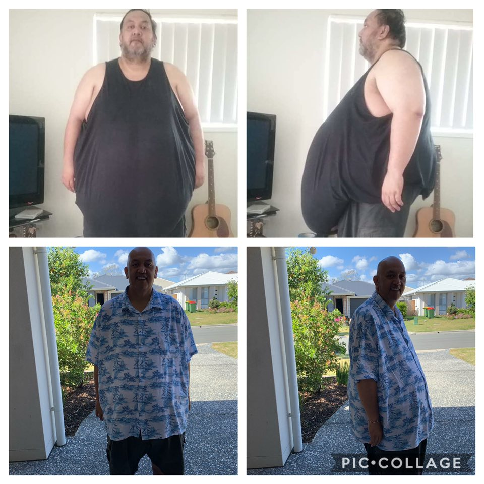 Thomas Teneti weight loss